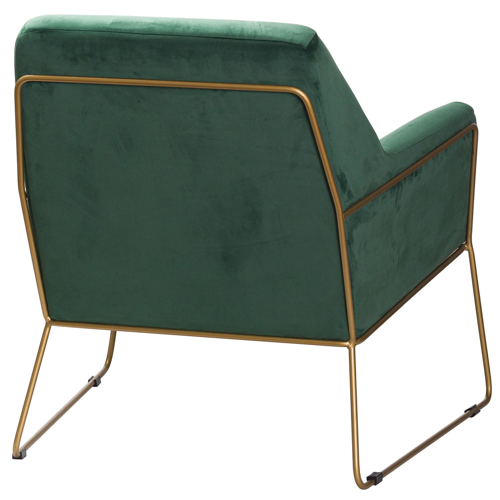 Green Velvet Club Chair Velvet Chair Velvet Armchair Armchair