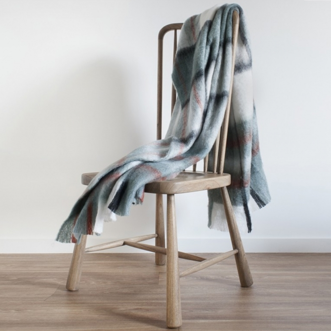 Kendal Mohair Feel Throw