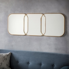 Kennford Gold Wall Mirror