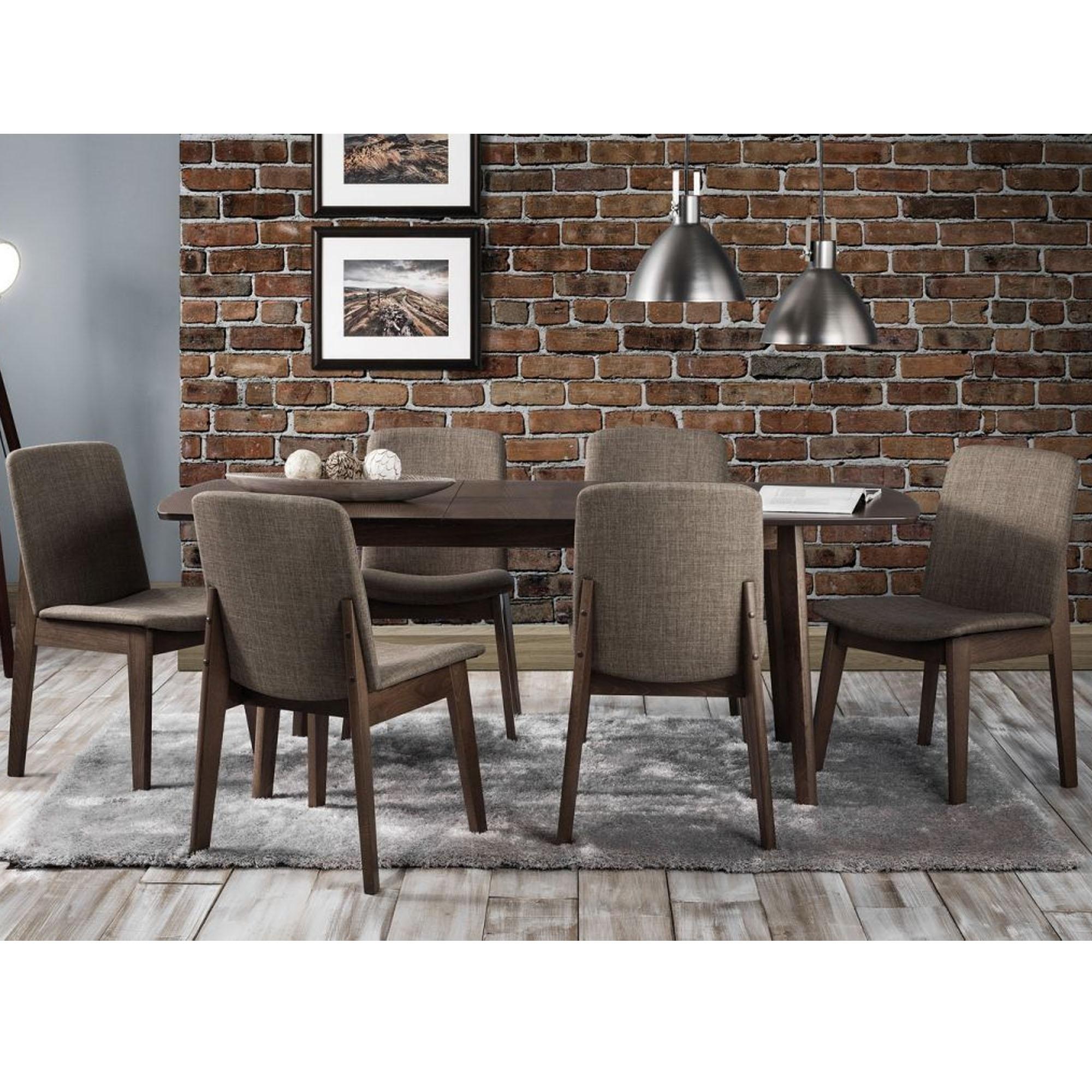 Kensington extending beech dining set modern dining furniture