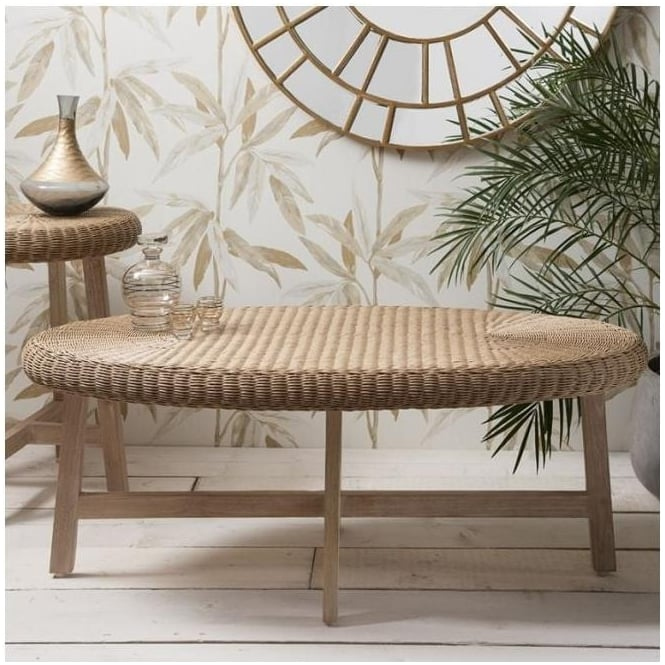 Kew Chunky Oval Coffee Table
