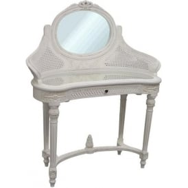 Kidney Shaped Antique French Style Console Table