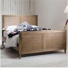 Kingsize Annecy Weathered Bed