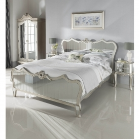 Kingsize Argente Mirrored Bed