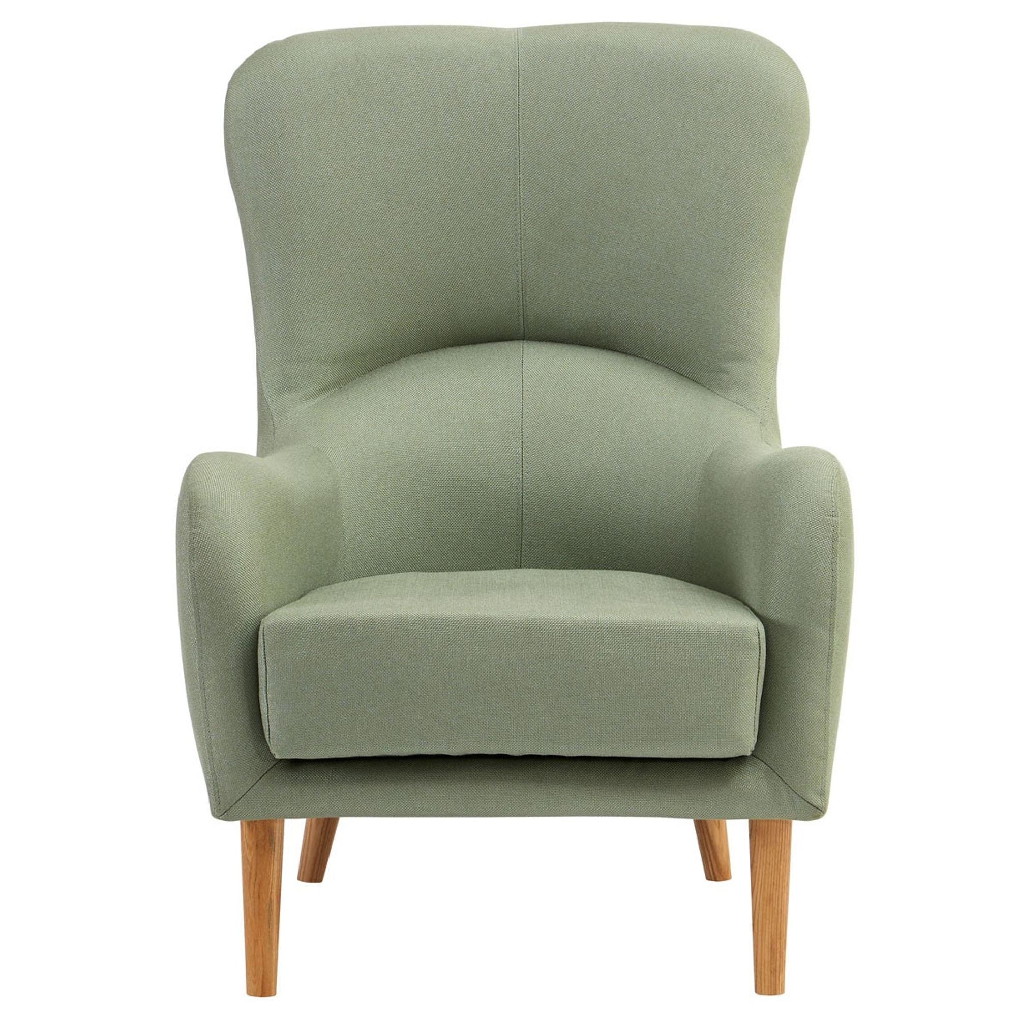 Super Kolding Green Fabric Chair Creativecarmelina Interior Chair Design Creativecarmelinacom