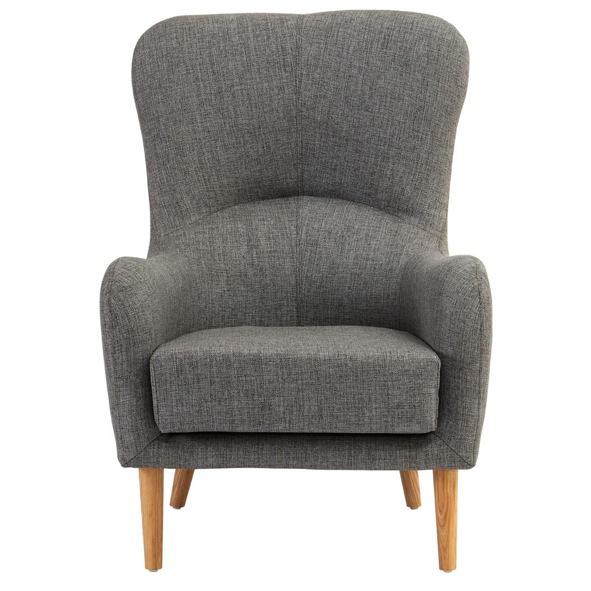 Superieur Kolding Grey Fabric Chair
