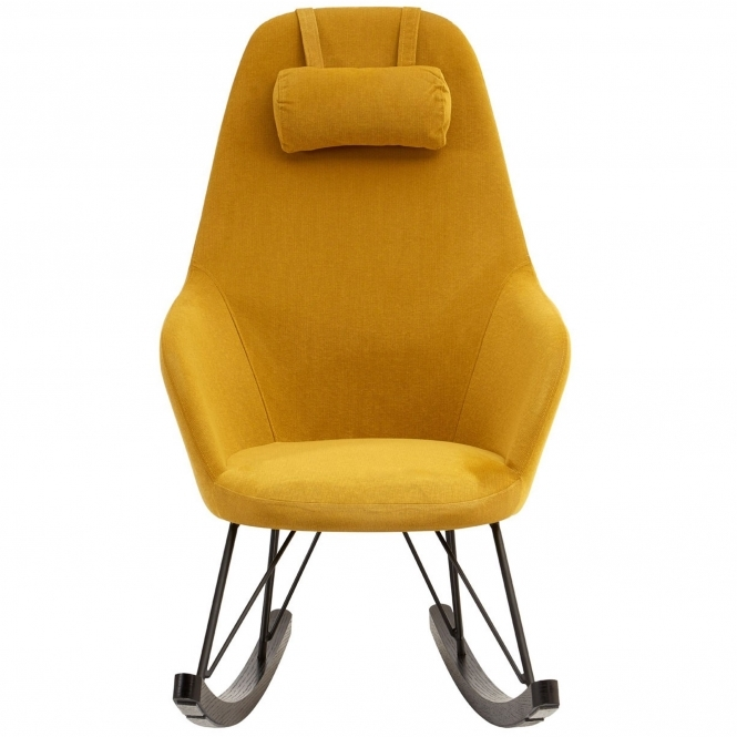 Kolding Yellow Fabric Chair