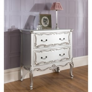 La Rochelle 2 Drawer Antique French Style Chest
