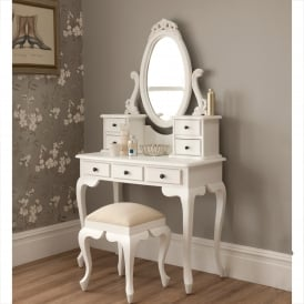 La Rochelle Antique French Dressing Table Set