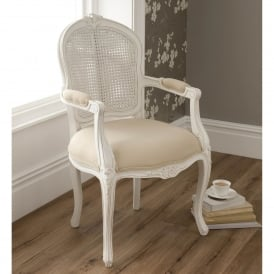La Rochelle Antique French Style Arm Chair