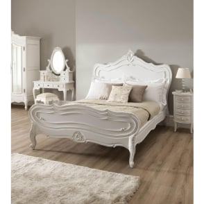 La Rochelle Antique French Bed (Size: Kingsize)