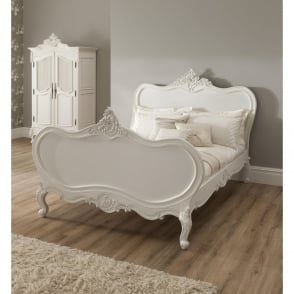 La Rochelle Antique French Bed (Size: King)