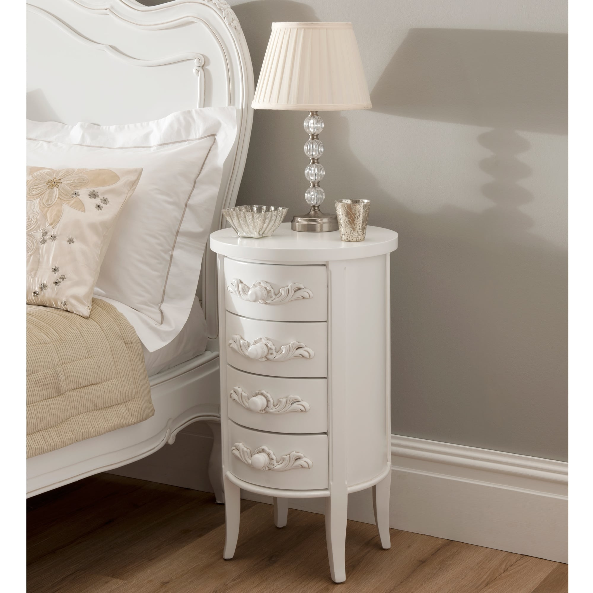 La Rochelle Antique French Style Bedside