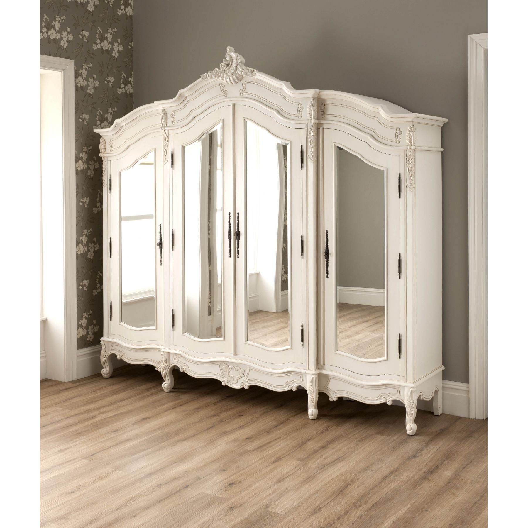 la rochelle antique french wardrobe rococo furniture. Black Bedroom Furniture Sets. Home Design Ideas