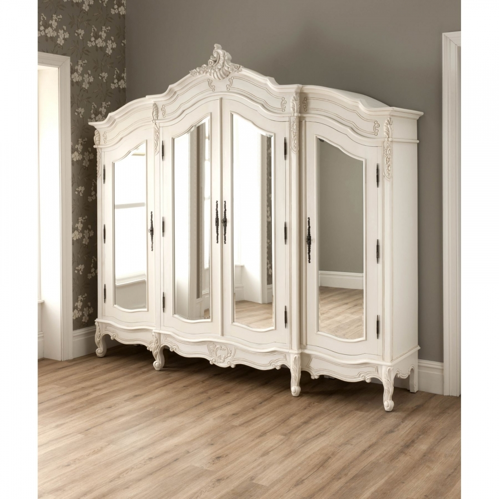 La rochelle antique french wardrobe rococo furniture for French style bedroom furniture