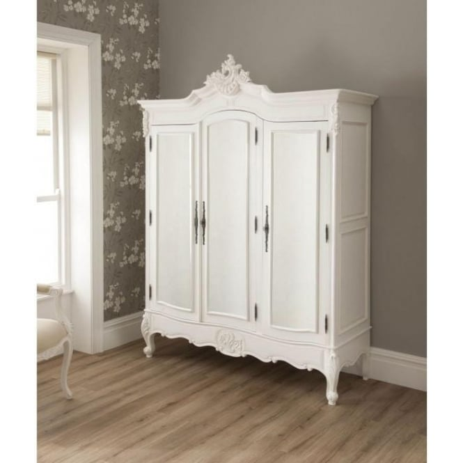Homes Direct 365 La Rochelle Antique French Style Wardrobe
