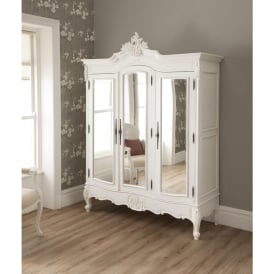 La Rochelle Shabby Chic Antique Style Wardrobe