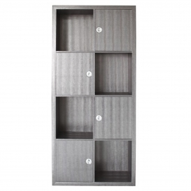 Lakeland Grey Bookcase