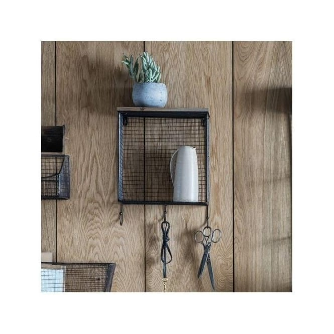 Langton Wire Storage Shelf with Hooks