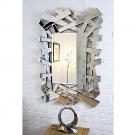 Large Abstract Venetian Mirror