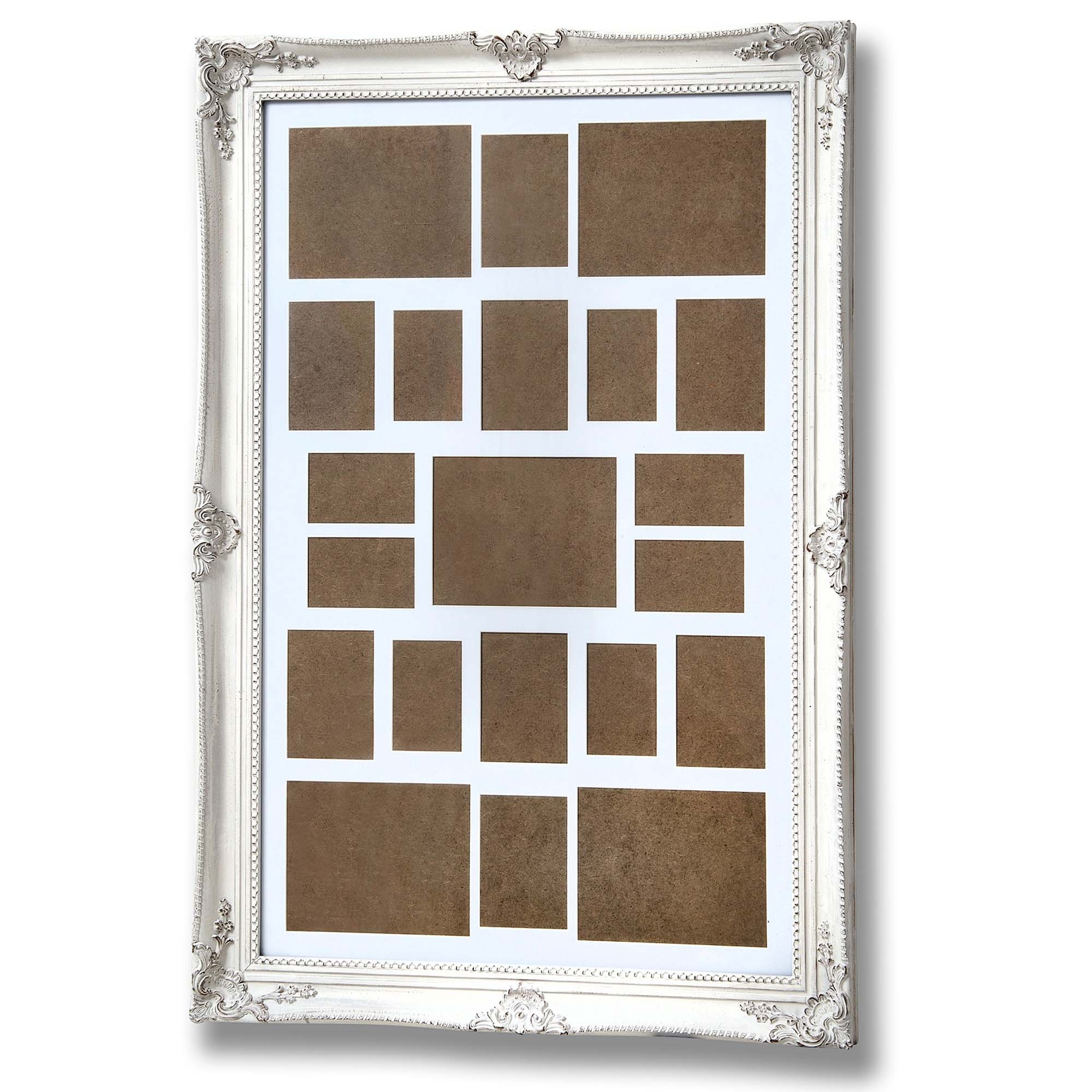 large white multi photo frame | Frameswalls.org