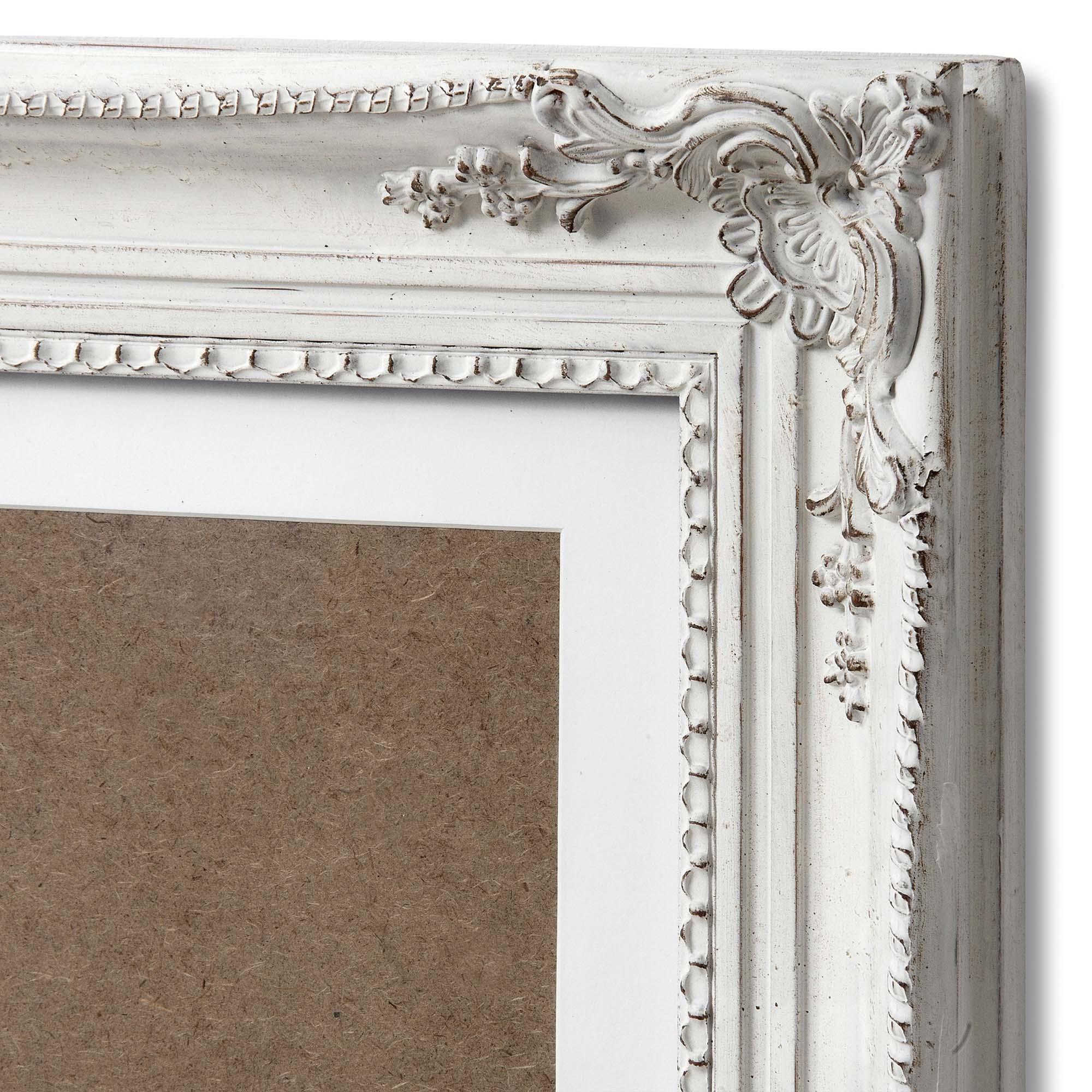 38d75433f36 Large Antique White Ornate Multi-Photo Frame