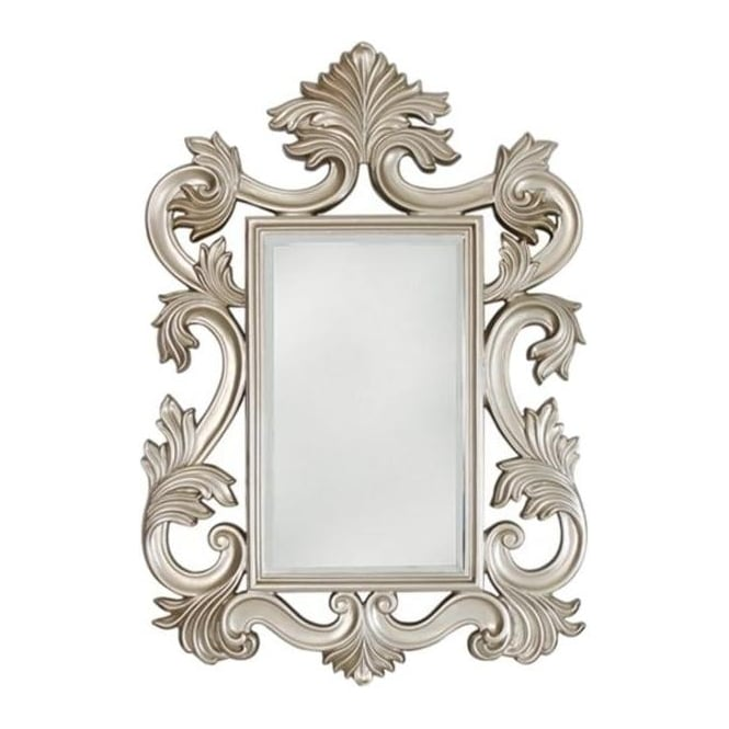 Large Baroque Antique French Style Mirror