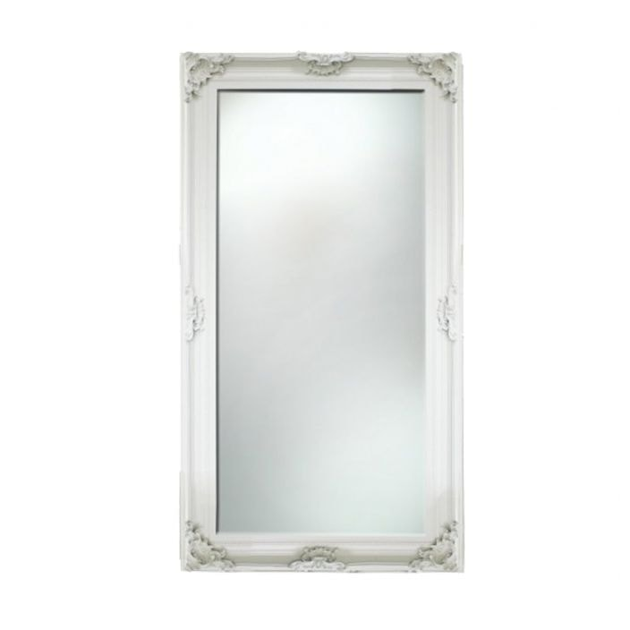Large baroque antique french mirror for Baroque style wall mirror