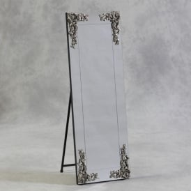 Large Cheval Antique French Style Mirror