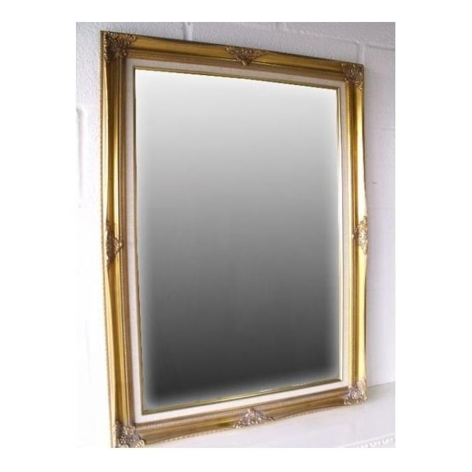 Large Classic Gold Antique French Style Wall Mirror