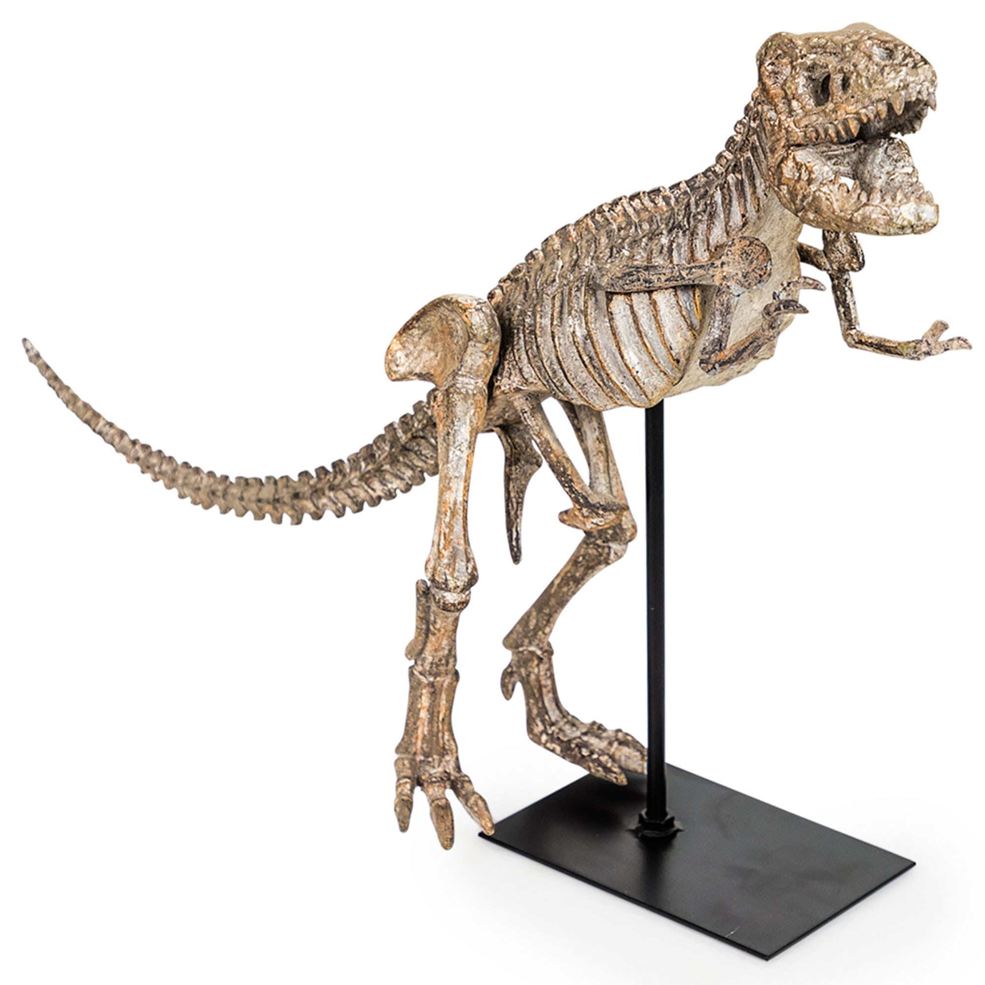Large Dinosaur Skeleton On Stand Home Accessories Indoor Ornaments