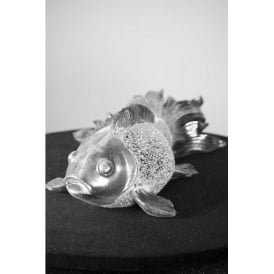 Large Electroplated Fish Ornament