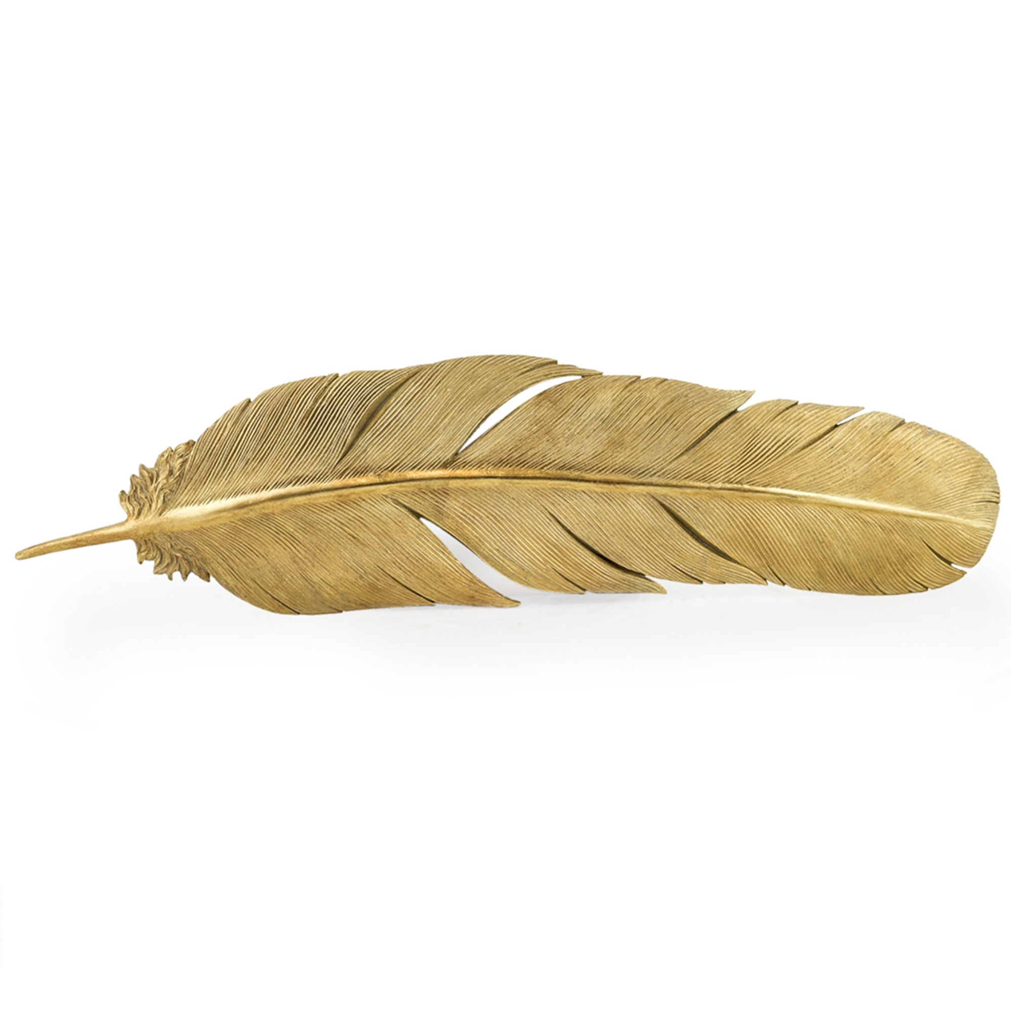 Large Gold Feather Home Accessories Online