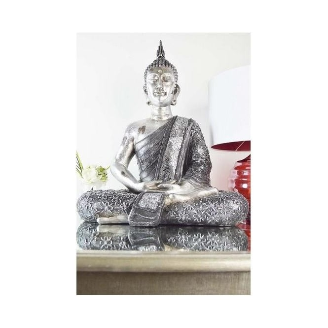 Large Kneeling Buddha Ornament