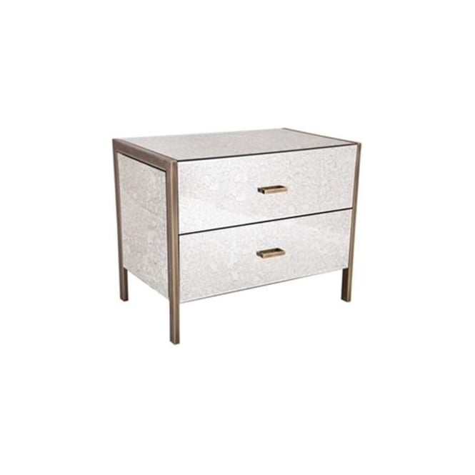 Large mirrored bedside table for Furniture 365 direct