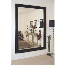 Large Ornate Antique French Style Mirror