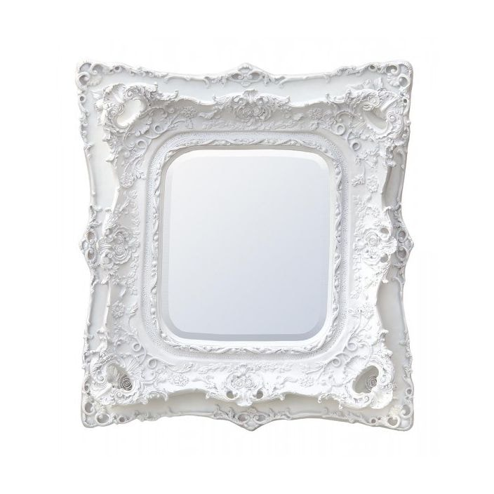 Large rosetti baroque antique french style mirror mirrors for Antique style wall mirror