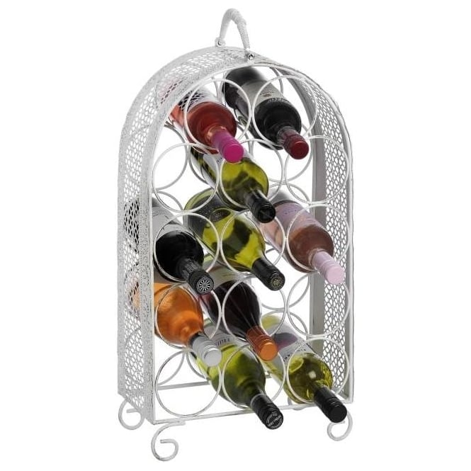 Large Shabby Chic Wine Rack