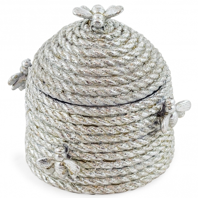 Large Silver Beehive Storage Box