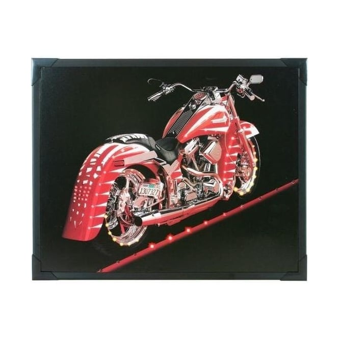 LED Picture - Harley Chopper