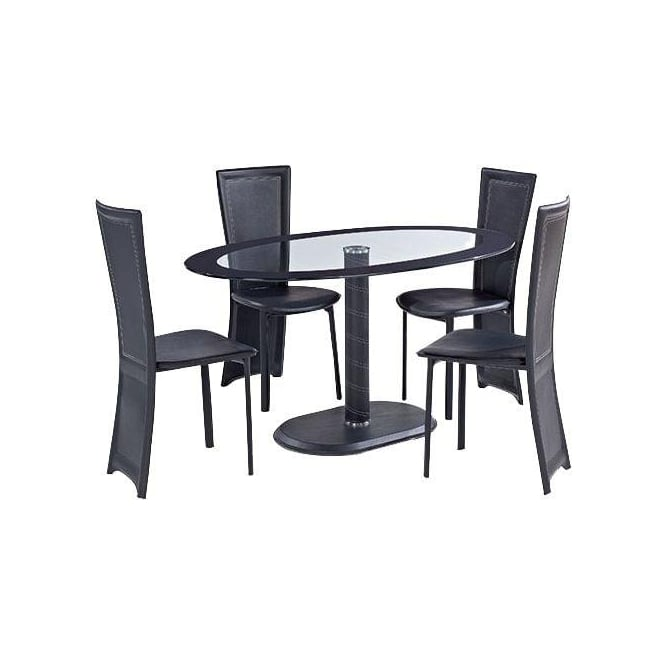 Lenora Oval Dining Table Set