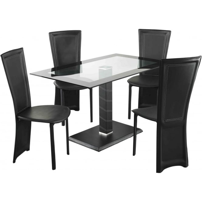 Lenora Rectangle Dining Table Set