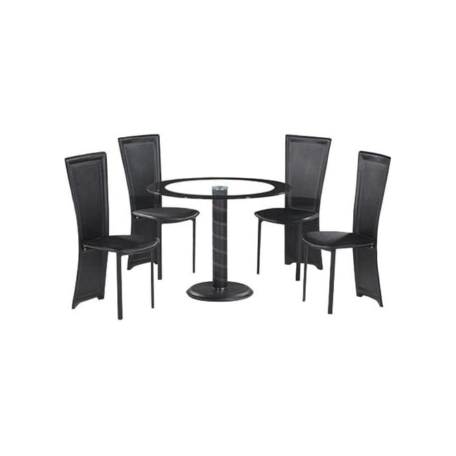 Lenora Round Dining Table Set
