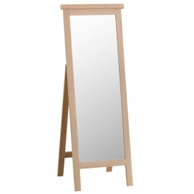 Lime Washed Oak Cheval Mirror