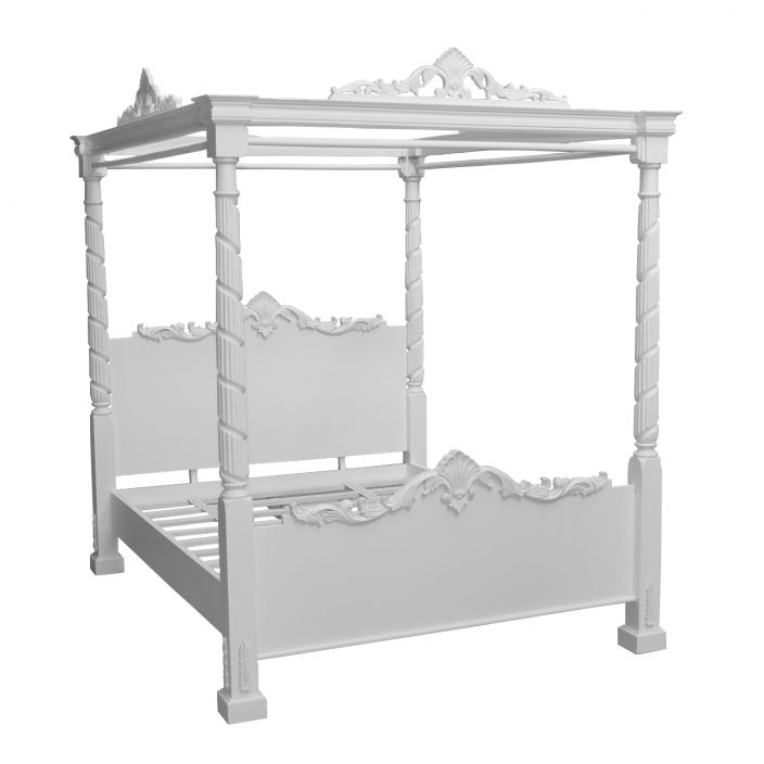 Buy Lincoln Four Poster Antique French Bed From Our