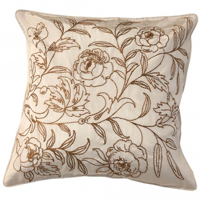 Line Floral Cushion Cover