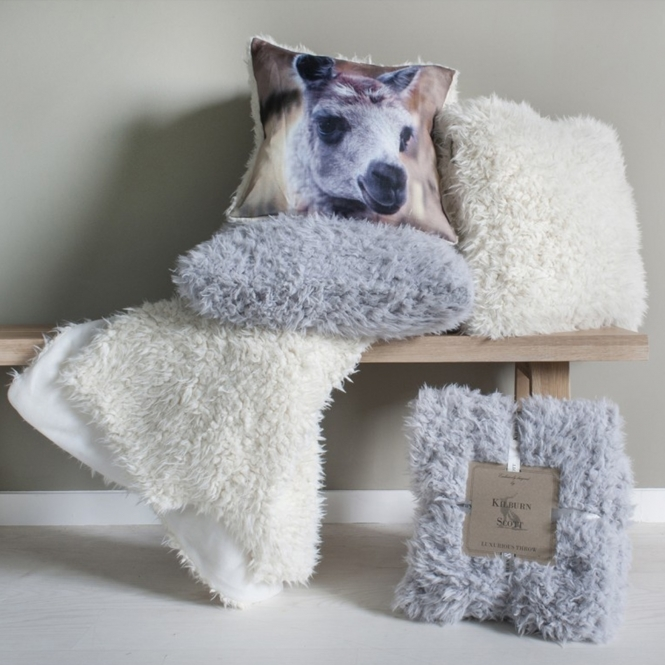 Lined Sherpa Throw