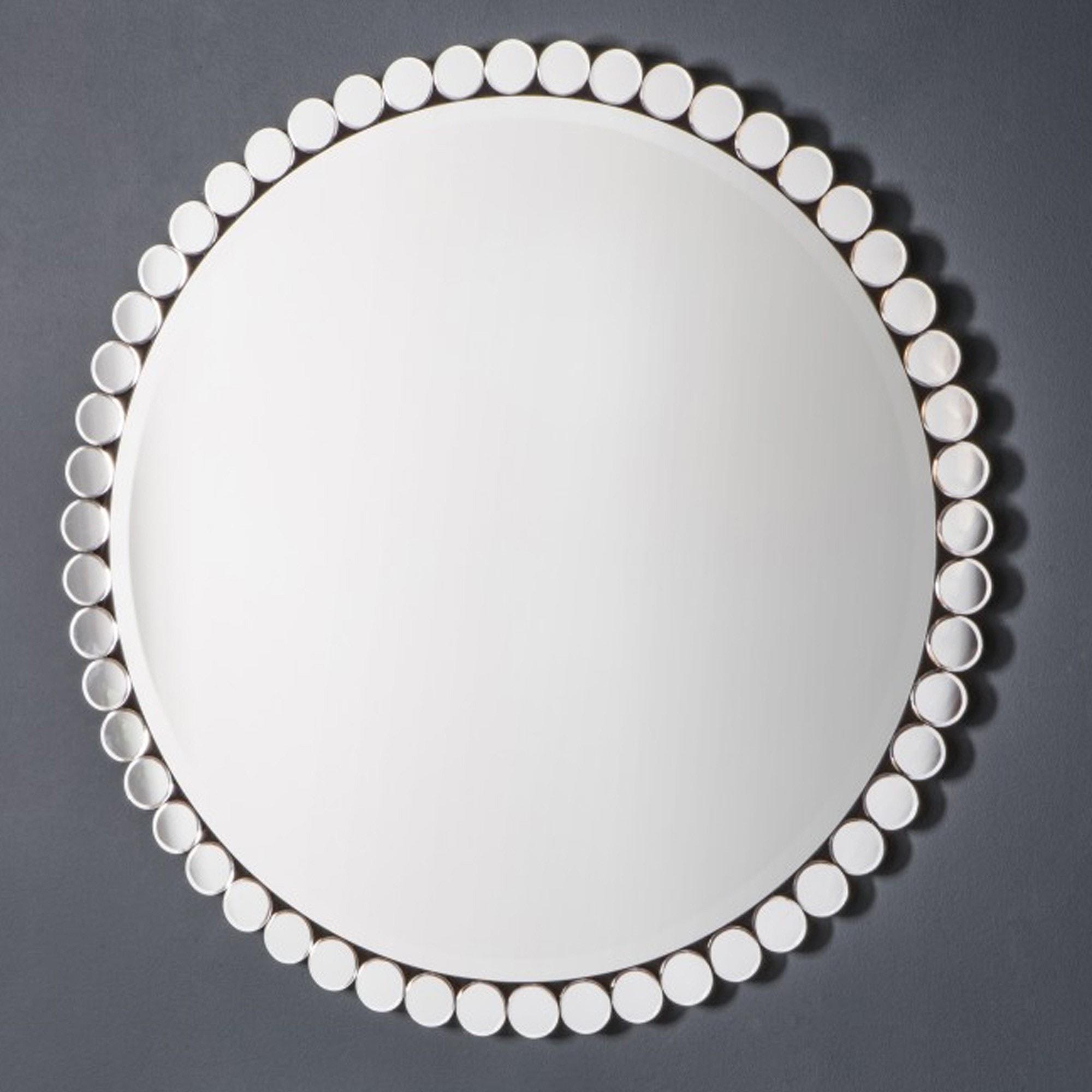 Linz Round Mirror Large Decorative Mirror Wall Mirror Round Mirror