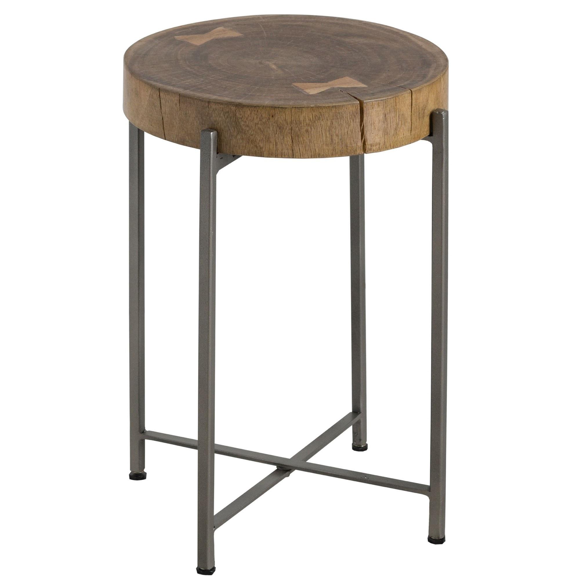 Log Slice Side Table Modern Furniture Dining Side Tables