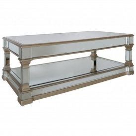 Livorno Mirrored Coffee Table